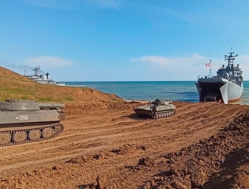 fot. RUSSIAN DEFENCE MINISTRY HANDOUT/PAP/EPA